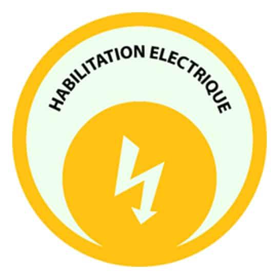 logo de l'habilitation Electrique