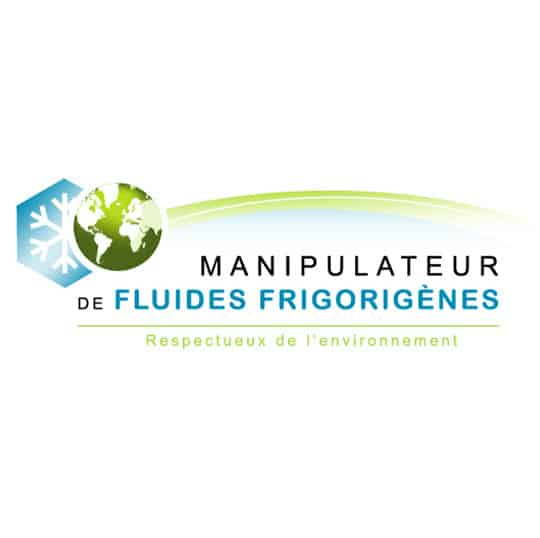 logo de la manipulation fluide frigorigène